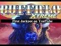 JACKPOT- NEW BUFFALO XTRENE - LIVE / 53 Free Games/ Handpay @ San Manuel Casino 赤富士スロット Slots Winner