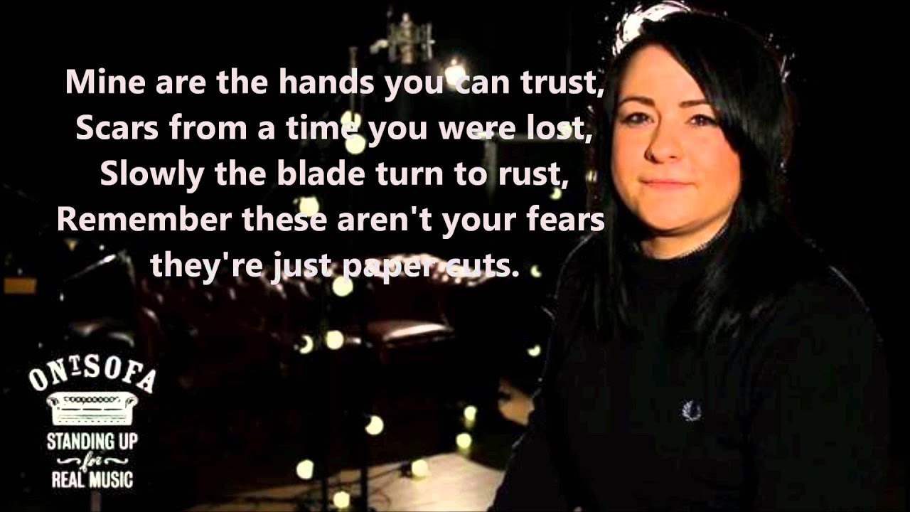 Papercraft Lucy Spraggan- Paper Cuts Lyrics