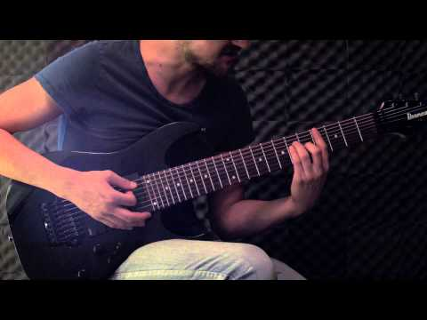 """DEADLOCK Guitar Tutorial - Dead City Sleepers - Inside """"The Arsonist"""" 2 