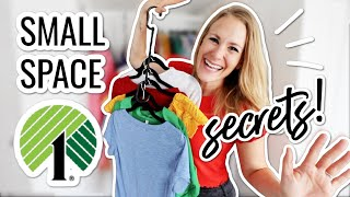 10 DOLLAR TREE SECRETS to organize like a pro in 2021 (no skill required closet tricks!)