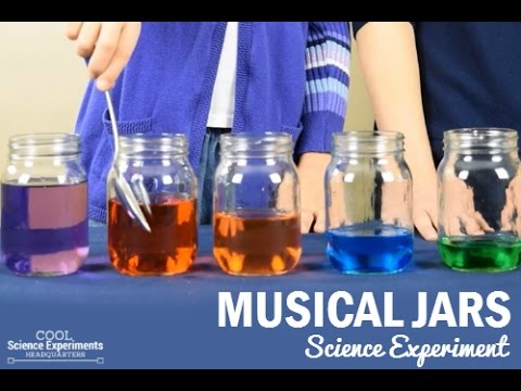Musical Jars Science Experiment
