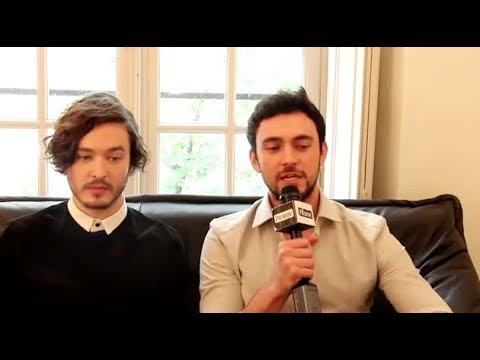 George and Versailles cast (S1) - Interview fr