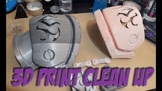 How To: Clean up 3D Prints!!