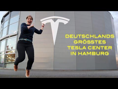 Deutschlands größtes Tesla Center in Hamburg I Sales, Service & Delivery an einem Ort I ein Einblick