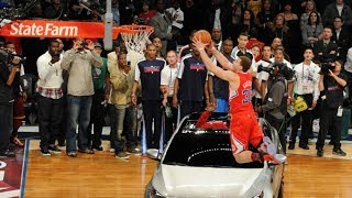Blake Griffin jumps over a car to win the 2011 NBA Slam Dunk Contest | ESPN Archives Video