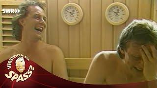 Sauna im Hotel mit Angelika Milster
