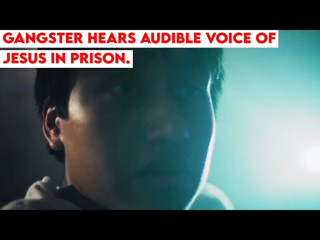 Gangster Hears Audible Voice of Jesus in Prison. Powerful Testimony!