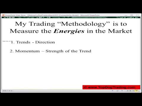 Trade With Confidence Day In & Day Out by Barry Burns of Top Dog Trading | Real Traders Webinar