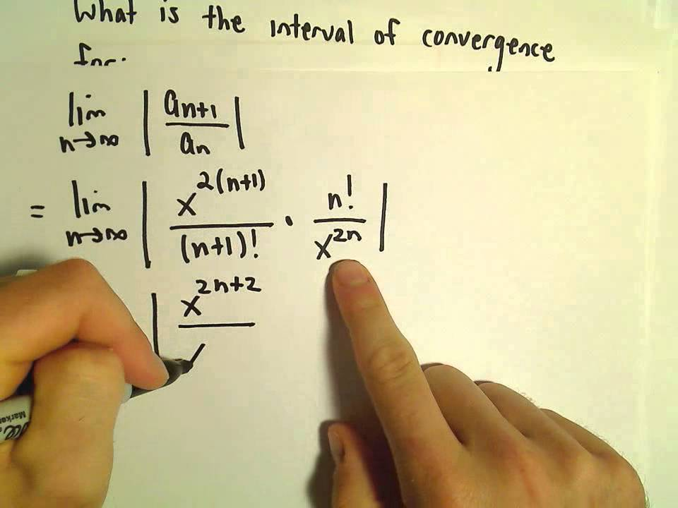 Finding Interval of Convergence for a Given Power Series Representation