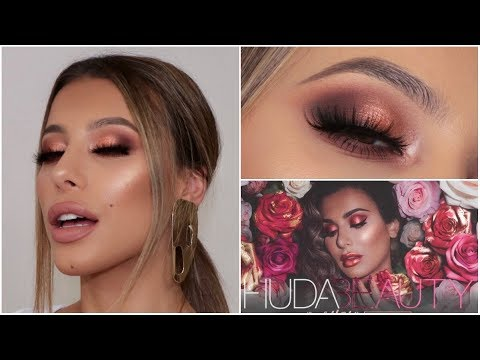 Huda Beauty Remastered Rose Gold Palette Review Comparison Youtube