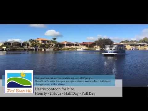 PeelBoatsHQ Offer Pontoon Boat Hire In Mandurah