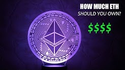 How Many Ethereum Should You Own? ETH Price Predictions