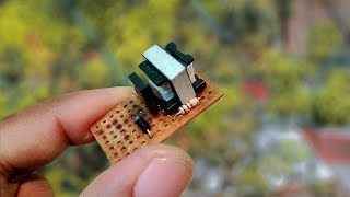 كيفية جعل بسيطة 3.7 v إلى 220v AC DC إلى العاكس في المنزل