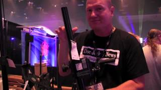 K and M Crank Up Stand at DJ Expo Video: By John Young of the Disc Jockey News