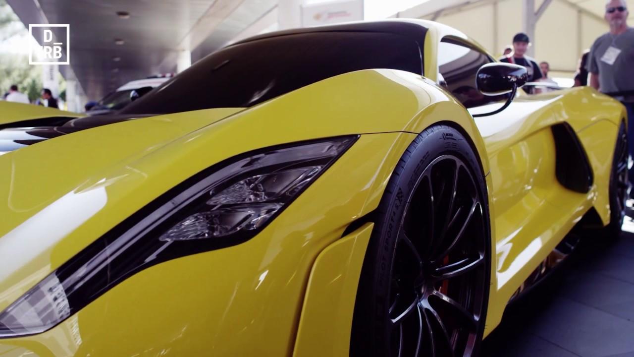 Hennessey Venom F5 >> Hennessey Venom F5 revealed – 300mph? SEMA 2017 - YouTube