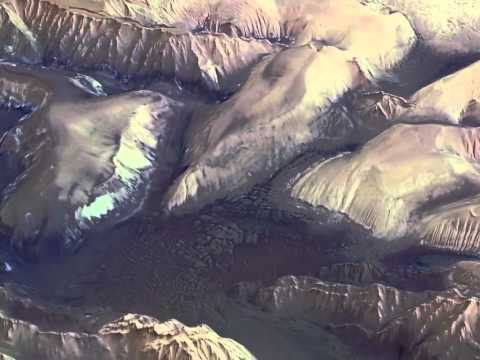 Mars Express: Flying Over Valles Marineris [720p]