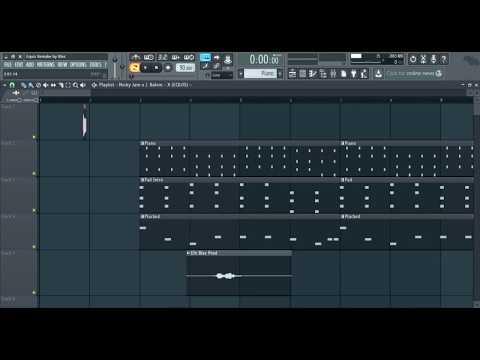 Nicky Jam x J Balvin x Maluma x Ozuna - X (Equis) Instrumental 99% Igual + FLP Free Download (BLEZ)