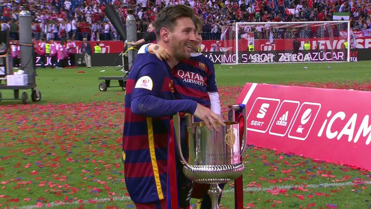 Lionel Messi vs Sevilla (Copa Del Rey Final 2016) HD 720p - English  Commentary - YouTube e752b954d5ae2