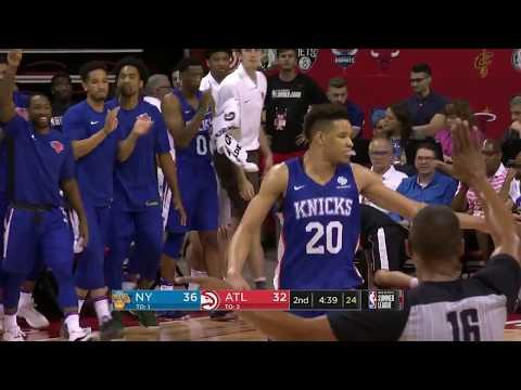 New York Knicks - NBA Summer League 2018 | Highlights vs Atlanta Hawks