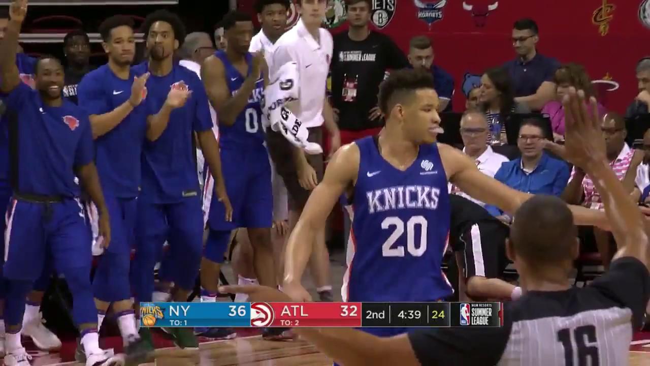 sale retailer d35b4 14448 New York Knicks - NBA Summer League 2018 | Highlights vs Atlanta Hawks