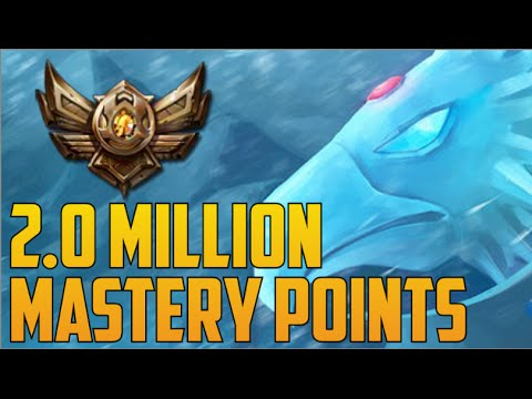 BRONZE 3 ANIVIA 2,000,000 MASTERY POINTS- Spectate Highest Mastery Points on Anivia