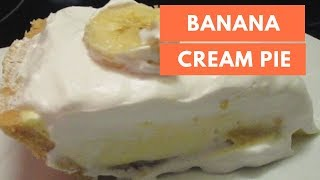 HOW TO MAKE A BANANA CREAM PIE (DAY 3: HOLIDAY CREAM PIES SERIES)