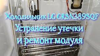 LG GRSN389SQF. Шығуын жою және жөндеу модуль