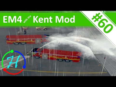 Airport Fuel Explosion! - Ep.60 - Emergency 4 - Kent Mod Continuous Gameplay - Kent Mod v1.2.5
