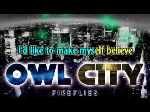 owl city  fireflies Karaoke Instrumental