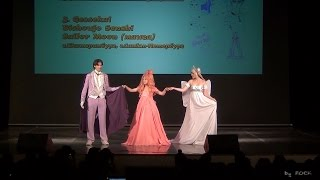 Груп Anime-дефиле-Gessekai - Bishoujo Senshi Sailor Moon [1 ДЕНЬ AniCon Festival 2015 (03.07.2015)]
