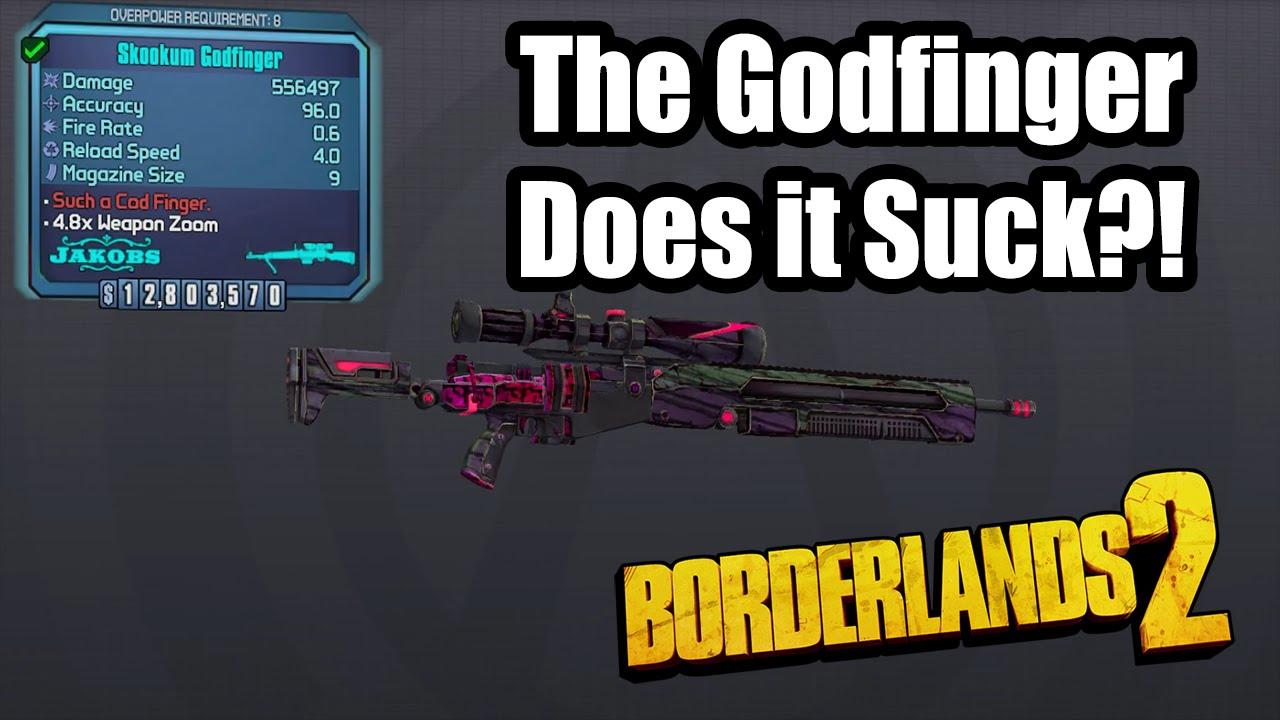 Borderlands 2 Pearlescent Godfinger Does It Suck Youtube