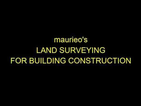 maurieo's LAND SURVEYING FOR BUILDING CONSTRUCTION