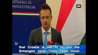 Croatia refuses to take in more migrants even as Hungary extends 'crisis situation' to Croatia
