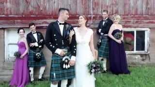 A Modern, Celtic Highland Wedding + Styled Bridal Shoots.