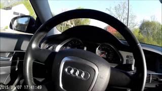 нештатная магнитола на Audi a6 4f