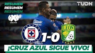 Resumen | Cruz Azul 1 - 0 León | Liga Mx - AP 19 - J16 | TUDN