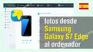 Transferir fotos desde Samsung Galaxy S7 Edge al ordenador