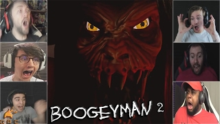 Gamers Reactions to Jumpscare From Boogeyman | Boogeyman 2