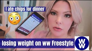 What I Eat in a Day to Lose Weight on Weight Watchers (ww) Freestyle | ep 2