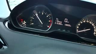 Peugeot 208 HDI 100 - accélération 0 - 100
