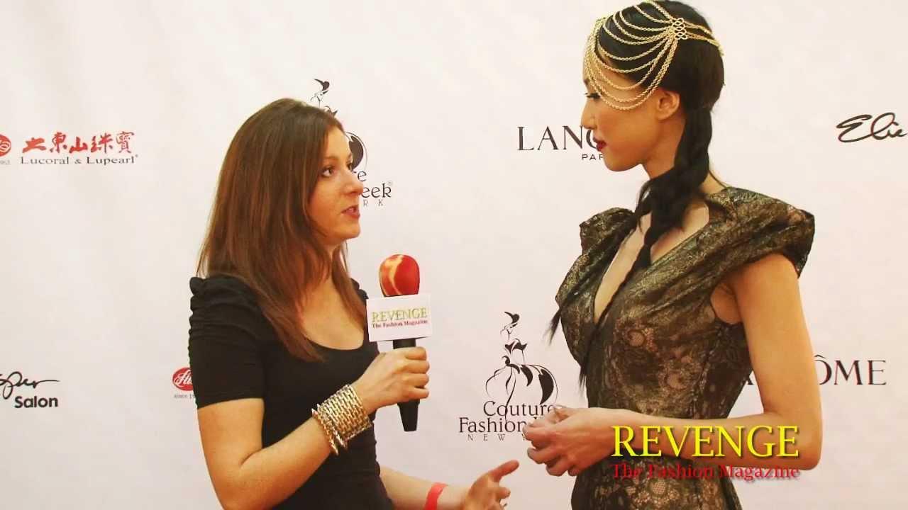Hillary Interviews Sarnai Amar, Mongolian Top Model - YouTube