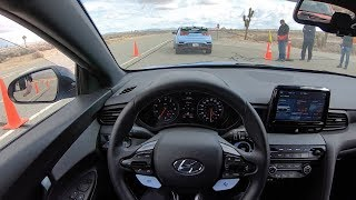 2019 Hyundai Veloster N Performance Package - POV Track Test & First Impressions