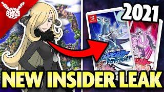 HUGE INSIDER INFO! NEW POKEMON GAMES and MORE! New Rumor/Leak!