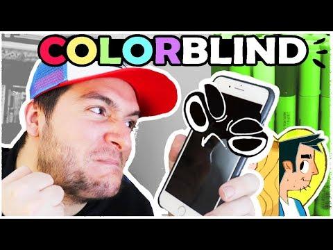 COLOR BLIND ARTIST vs COLOR COMPUTER AI!