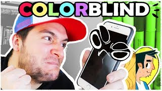 COLOR BLIND ARTIST vs COLOR COMPUTER AI!