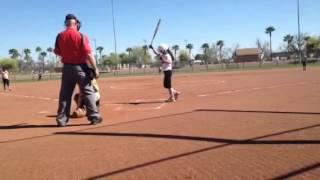 Giselle Nuñez - 10u Softball - Firecrackers - Triple