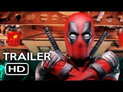 Deadpool 2 Official Trailer #1 (2018) Ryan Reynolds Marvel Movie HD