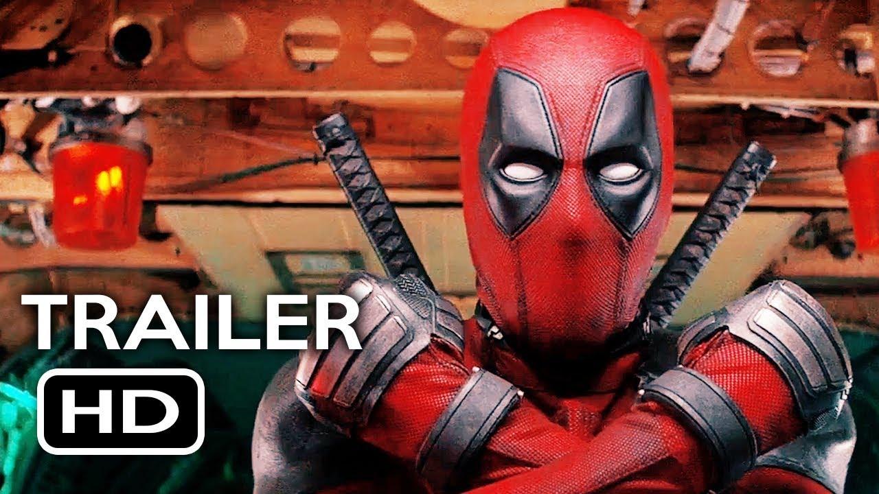 Deadpool 2 Official Trailer 1 2018 Ryan Reynolds Marvel Movie Hd Youtube