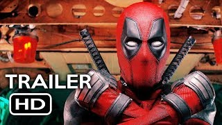 Deadpool 2 Official Trailer #1 (2018) Ryan Reynolds Marvel Movie HD