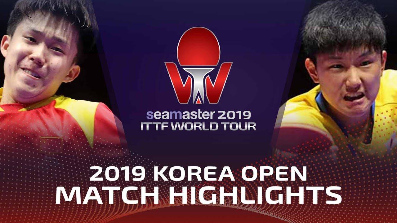 Download Wang Chuqin vs Tomokazu Harimoto | 2019 ITTF Korea Open Highlights (1/4)